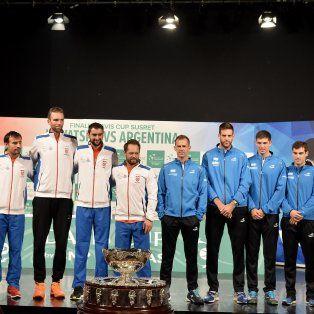 delbonis abre la serie final ante cilic y el equipo croata se despacho con una sorpresa