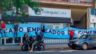 Triángulo Color cerró todas sus sucursales sin aviso previo y dejó a 36 empleados en la calle