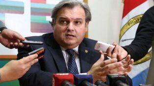 El ministro de Gobierno provincial