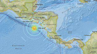 El epicentro del terremoto tuvo una profundidad de 10