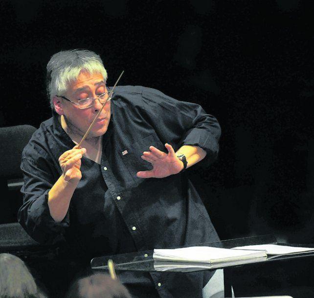 novedosa. Así calificó Del Pino a la sinfonía de Mahler que dirigirá hoy.