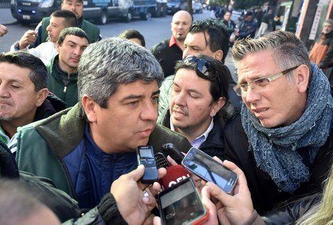 camionero. Pablo Mayono considera que Macri gobierno sólo para los ricos.