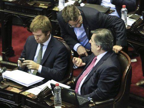 Debate. La Cámara baja sesionó 16 horas