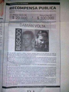Buscado. Volta estuvo prófugo de la Justicia por unos 20 meses.