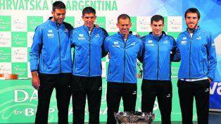 El tenis argentino comienza otro sueño en busca de la Copa Davis en Croacia