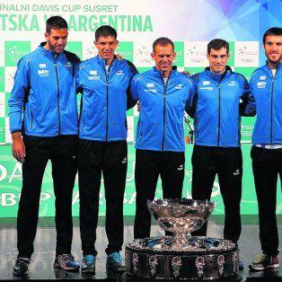 el tenis argentino comienza otro sueno en busca de la copa davis en croacia