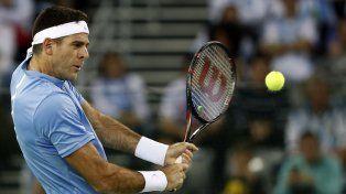 El tandilense Juan Martín del Potro se enfrenta a Ivo Karlovic en la final de la Copa Davis.