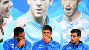 ¿Lo digo? Delpo se sonríe con Delbo mientras Pella parece en otro mundo. Los tenistas argentinos que se robarán toda la atención.