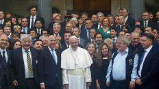 Respaldo pastoral. Francisco invitó al Vaticano a jueces y fiscales argentinos a audiencias privadas y foros.