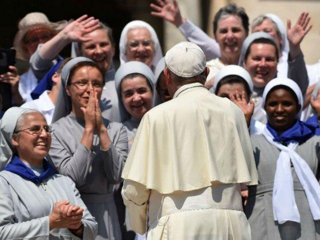 Consentimiento. Las monjas habían pedido a Francisco el acceso a más oportunidades en la profesión de la fe.