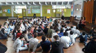 A la Pablo Pizzurno asisten hoy cerca de 150 alumnos.