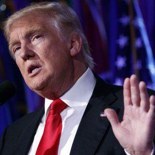 Línea dura. Trump prometió trabajar por la prosperidad de los cubanos.