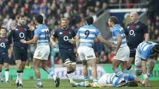 Los Pumas cayeron ante Inglaterra y cerraron el año con un balance negativo