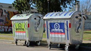 En origen. Se pondrán 24 contenedores de papel