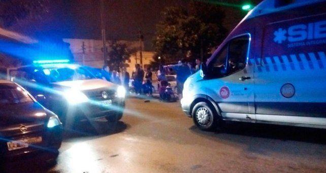 Una joven embarazada falleció tras ser embestida por un auto en barrio Belgrano