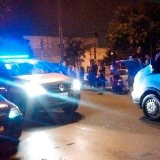 una joven embarazada fallecio tras ser embestida por un auto en barrio belgrano
