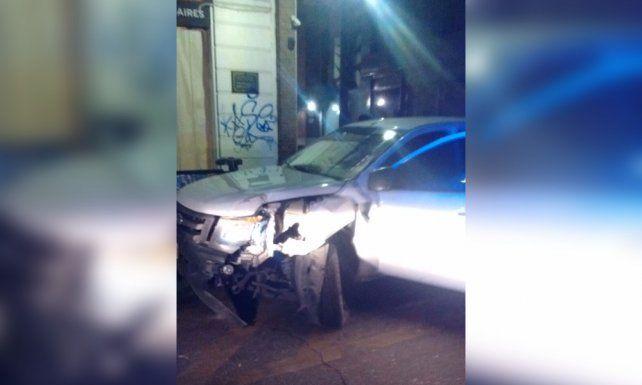 El conductor evadió un control en Montevideo y Oroño