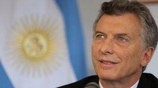 El presidente argentino felicitó al equipo de Copa Davis tras el histórico logro.