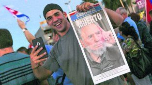 fiesta. Los cubano-americanos no dejan de celebrar la muerte de Castro.