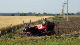 Tres personas fallecieron en un fatal accidente en las cercanías de Gálvez
