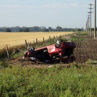 tres personas fallecieron en un fatal accidente en las cercanias de galvez