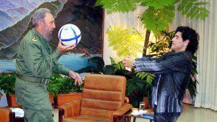 Maradona aseguró que siempre amará a Fidel, al Che (Ernesto Guevara) y Cuba.