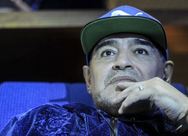 Diego reiteró su oposición al gobierno de Mauricio Macri.