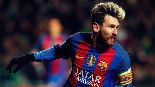 Messi no se quedó afuera y celebró la obtención de la Copa Davis.
