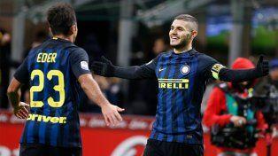 El rosarino Icardi fue la figura de Inter