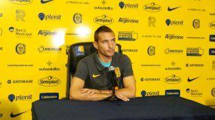 Marco Ruben habló en la previa del partido de Central frente a Belgrano.