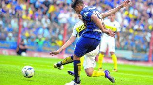 Toque colombiano. Teo Gutiérrez tiene chances de ser titular en el partido en Formosa ante Belgrano.