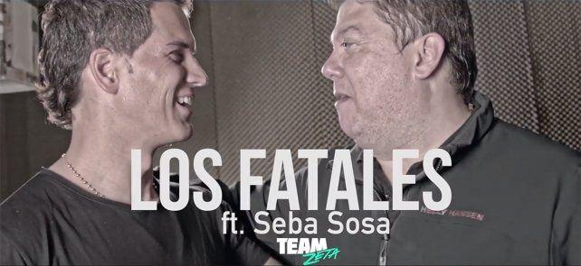 El arquero uruguayo se animó a cantar junto a Los Fatales en su último videoclip.