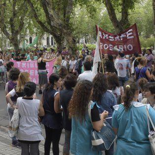 La marcha está convocada para las 10 en plaza San Martín.