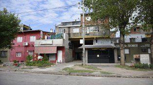 Grandoli 4900. El lugar donde mataron a Franco Carballo veinte horas antes que a su primo.