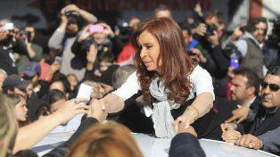 La expresidenta durante su anterior visita a Buenos Aires
