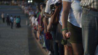 Las interminables filas en la Plaza de Revolución