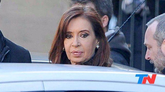 Cristina adelantó esta mañana su llegada a Tribunales