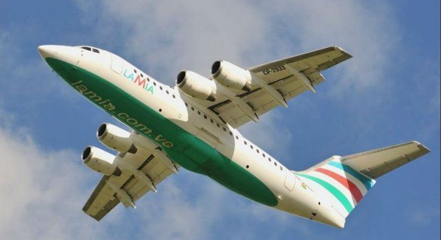 El Avro Regional Jet 85 matrícula CP-2933