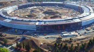 Así se ve el nuevo campus de Apple a días de su inauguración