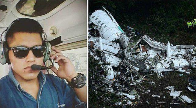 El comisario de abordo del avión de la tragedia aérea explicó por qué se salvó