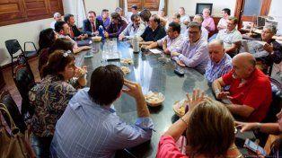 La reunión no tuvo el final esperado y pasó a un cuarto intermedio hasta el jueves. (Foto de archivo)