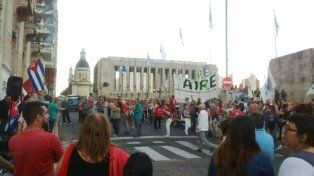 La convocatoria al acto corrió por parte del Partido Comunista de Rosario