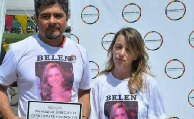 Irrecuperable. Los padres de Belén reclamaron tres años por justicia.