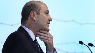 Desinflado. Federico Sturzeneger, presidente del Banco Central.