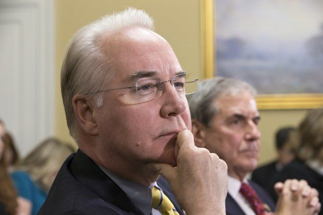 El legislador Tom Price