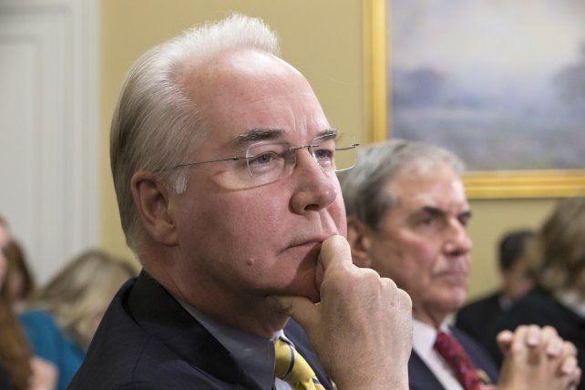 El legislador Tom Price