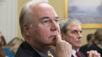 El legislador Tom Price, de 62 años.