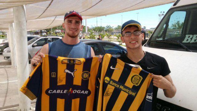Lucas y Raúl Rey