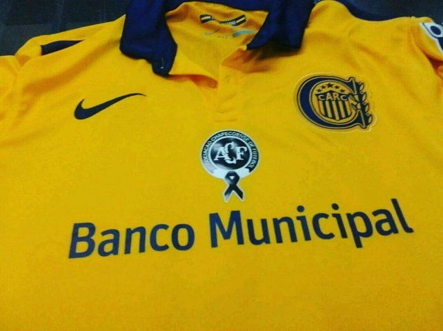 Esta es la camiseta que usará Central para enfrentar a Belgrano en homenaje a Chapecoense.