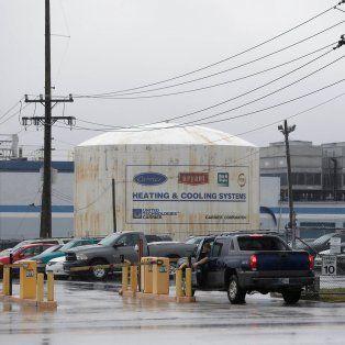 Proteccionismo. La fábrica de aires acondicionados Carrier, de Indianápolis, donde Trump anunciará hoy el pacto.